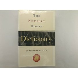 ~英文原文書_DRN~~THE NEWBURY HOUSE DICTIONARY~_OF