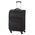 ☆Traveler Style包包鋪☆ COSSACK 領航系列 可加大輕量登機箱/行李箱旅行箱20吋-黑色-共(3色)