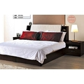* 展利生活館 * 史瓦茲胡桃5尺6尺床箱式床組.床頭櫃 (床架分類)~免運費喔~672-5