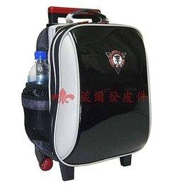 【葳爾登】UNME拉捍小學生書包,超輕背包,兒童拉桿旅行箱,登機箱型號3308黑色亮面第3代新款