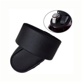 PU皮革枕頭 錶枕 適用手錶上鏈盒 搖錶器 首飾收納 手錶展示盒/象牙米 尊爵黑 碳纖維 米絨布