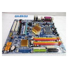 菜逃貴 技嘉 GA-8N-SLI 雙通道 SLI雙顯示卡 千兆網路 磁碟陣列