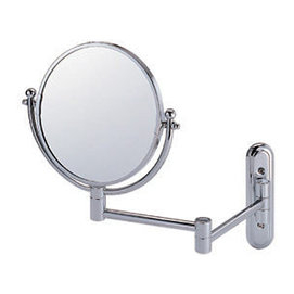 活動鏡伸縮鏡 化妝鏡 8伸縮活動式兩用放大鏡 美容美髮用鏡 凱撒衛浴M720