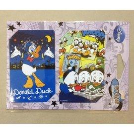 阿虎會社【Q - 903】正版 迪士尼 卡貼 貼紙 唐老鴨 唐老鴨家族 票卡貼 票卡貼紙/卡貼/悠遊卡貼