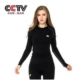 秋鼕季瑜珈 UA緊身衣長袖速干圓領T恤女子跑步健美訓練健身服