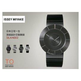 ISSEY MIYAKE 三宅一生 TO 飾品設計腕錶 38mm/日本製/旗艦代表作/防水/SILAN002