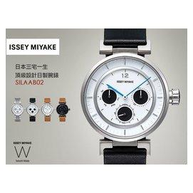 ISSEY MIYAKE W系列精品腕錶 39mm/BK/三宅一生/Audi/Satoshi Wada/日製