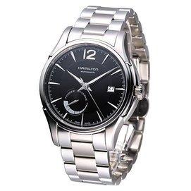 漢米爾頓 HAMILTON Jazzmaster 動力儲存 時尚腕錶 H32699131 黑面鋼