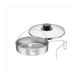 德國 WMF 壓力鍋專用配件 蒸盤腳架玻璃蓋/三件組~