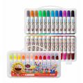 電視廣告促銷 【永昌文具】奶油獅 BLW-12B 可水洗彩色筆 12色入 /盒