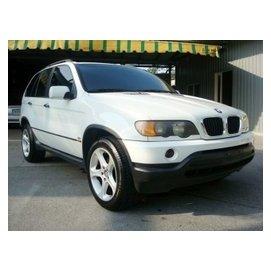 德昌汽車 2001年 BMW 寶馬 X5 E53 3.0 白 免訂金 免頭款 全額貸款實施