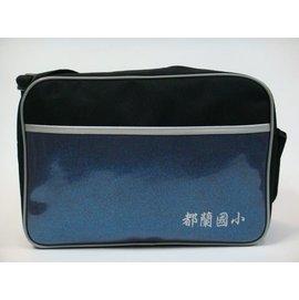 ~菲歐娜~4330 都蘭國小 鏡面學生書包 斜背包 包 潮包  藍