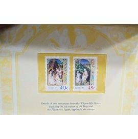 澳洲~2001 Christmas  聖誕節  ~套票護卡