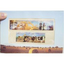 澳洲~套票護卡 郵票