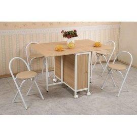 【天空之城】《SK-T289》一桌四椅方型蝴蝶桌椅組/餐桌/休閒桌/多用途電腦桌