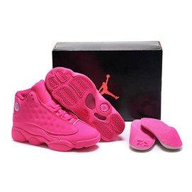 NIKE AIR JORDAN 13 RETRO AJ13喬丹13代 女生籃球鞋 騷玫紅