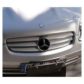 金螃蟹 賓士 BENZ SLK ~ R170 96~04 系列 水箱罩  電鍍銀 烤漆銀  SLK350 SLK55