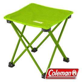 【山野賣客】Coleman CM-21984 萊姆綠 輕便摺疊凳 折凳 低座小椅 戶外野餐椅 摺疊椅 休閒椅 童軍椅 追