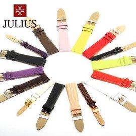 聚利時JULIUS真皮皮帶 原裝手表表帶 男女款多色多款 真皮配件