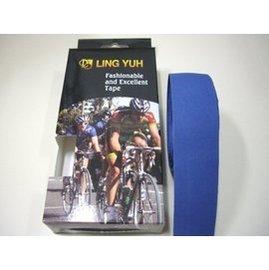 LING YUH跑車車手把帶  EVA輕量化 全藍色 精美盒裝《意生自行車》