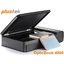 ~MR3C~含稅有發票 Plustek OpticBook 4800 書本掃描器 平台式掃