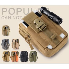 雙11  多 戰術腰包 手機包 零錢包 可放5.5.6吋手機包.小包包.大容量.多色