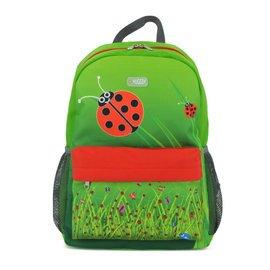 英國 HUGGER Lets go L兒童旅行家大號背包 #3327- 瓢蟲