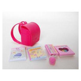 五色鳥  莉卡娃娃 校園書包K2 娃娃書包 女孩玩具 芭比 莉卡 珍妮 可兒