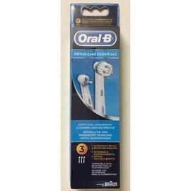德國百靈 歐樂B 電動牙刷 Oral B 新款 牙齒矯正護理刷頭組(矯正刷頭OD17*2+牙間刷頭IP17*1)(570元)