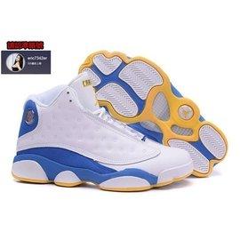 NIKE AIR JORDAN 13 喬丹13代 AJ13 籃球鞋 白藍黃 男款 US8~13