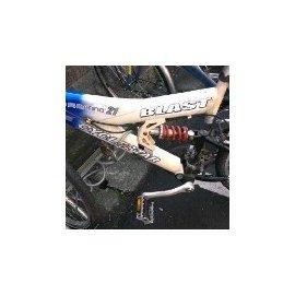Cyclestar 26吋前輪避震登山越野車 Shimano 21變速