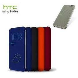 HTC Butterfly2 蝴蝶2 炫彩顯示保護套 Dot view 副廠 智能皮套 洞