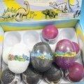 恐龍蛋黏土 恐龍蛋造型蛋粘土+恐龍 魔術黏土(不沾手)/一盒12個入{促49}~ST安全玩具