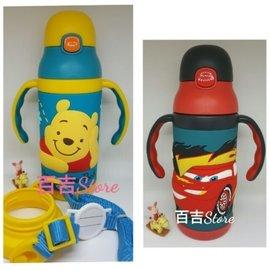 ♡迪士尼麥坤米奇立體輕量保溫不鏽鋼學習杯400ml雙把手學飲杯兒童水壺 可拆換成學習杯或水壺(40元)
