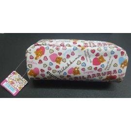 ☆Juicy☆日本 Rilakkuma 拉拉熊 懶懶熊 輕鬆小熊 熊哥 化妝包 收納袋 小物包 筆袋 3188