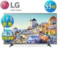 LG樂金55型IPS4KUHDLED智慧連網液晶電視(55UH615T)