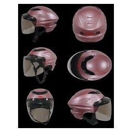 ㊣金頭帽㊣【瑞獅 ZEUS ZS-125A 銀粉紅 】通風 透氣 全可拆內襯 雪帽 安全帽