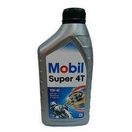 一瓶就出貨 Mobil 美孚機油 Super 4T 15W40 4行程 機車 貨 1L 1