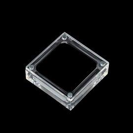壓克力透明寶石戒面展示收納盒 #x1f60d #x1f60d #x1f60d #x1f60