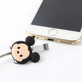 卡通米奇米妮蘋果保護頭iphone手機線充電器保護套