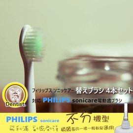 [A6]中號 細尖超軟型-標準  飛利浦PHILIP音波 聲波電動牙刷 牙刷頭 副廠HX6013 HX6023 HX6053 HX6063 HX6073