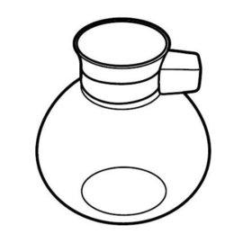 【日本TWINBIRD】電動虹吸式咖啡壺(CM-D853BR)~下瓶