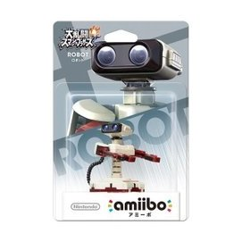 Wii U 任天堂明星大亂鬥 近距離無線連線 NFC 連動人偶 amiibo 機器人 ROBOT【板橋魔力】