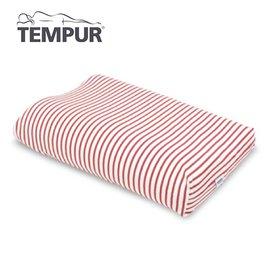 【北歐生活】TEMPUR 丹普 感溫枕 枕頭套 XS~L通用 白x紅 高雄可面交