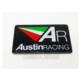 AR排氣管鋁牌貼 AustinRACING 排氣管貼紙 鋁貼 防燙蓋貼紙 HBP/GJMS/DY/RPM/日本吉村管