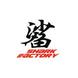 2張120 鯊字貼紙 Shark Factory 車殼貼 反光貼 鯊魚貼紙 車貼貼紙 輪框貼 反光條 燈條
