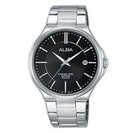 【ALBA雅柏】簡約生活時尚男用不鏽鋼腕錶(40mm/VJ42-X184D)