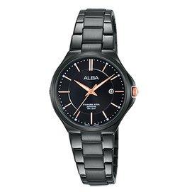【ALBA雅柏】品味生活時尚女用不鏽鋼腕錶(28mm/VJ22-X226K)