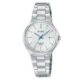 【ALBA雅柏】簡約生活時尚女用不鏽鋼腕錶(28mm/VJ22-X226S)