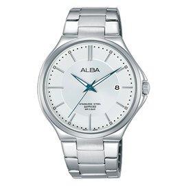 【ALBA雅柏】品味生活簡約男用不銹鋼腕錶(40mm/VJ42-X184S)